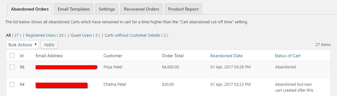 Download Abandoned Cart Lite for WooCommerce 5.0.1 – Free WordPress Plugin