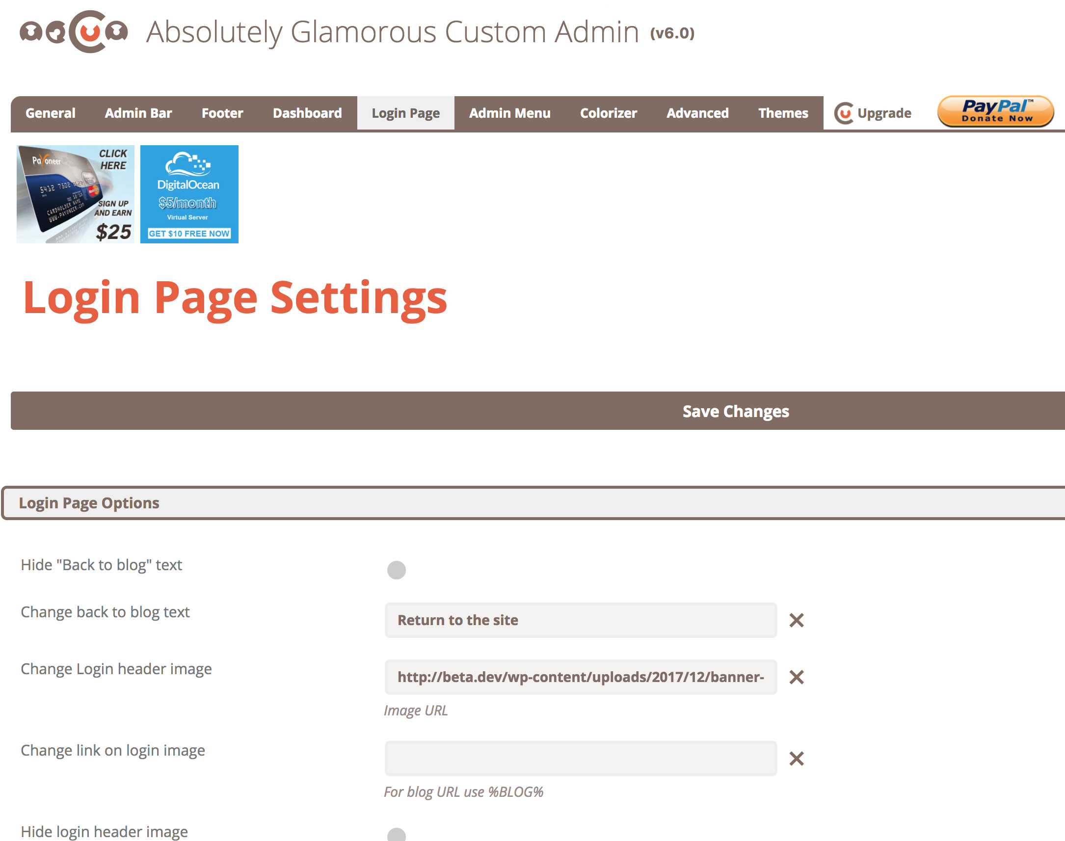 Download Absolutely Glamorous Custom Admin 6.4.1 – Free WordPress Plugin