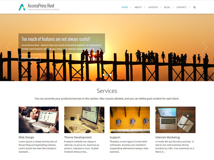 Download AccessPress Root 1.31 – Free WordPress Theme