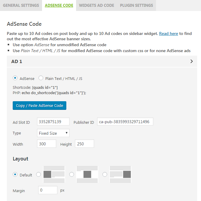 Download AdSense Plugin WP QUADS 1.8.0 – Free WordPress Plugin