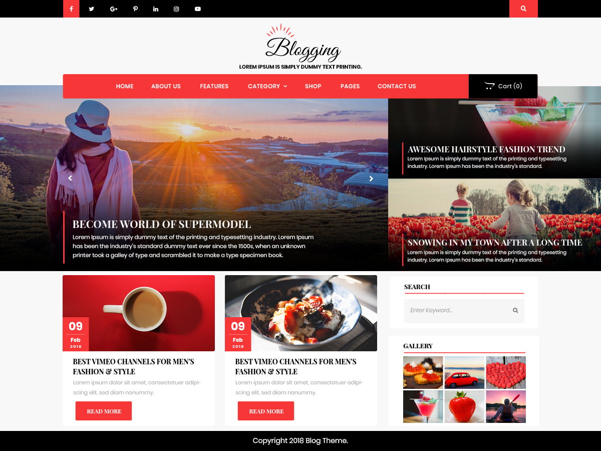 Download Advance Blogging 0.4 – Free WordPress Theme