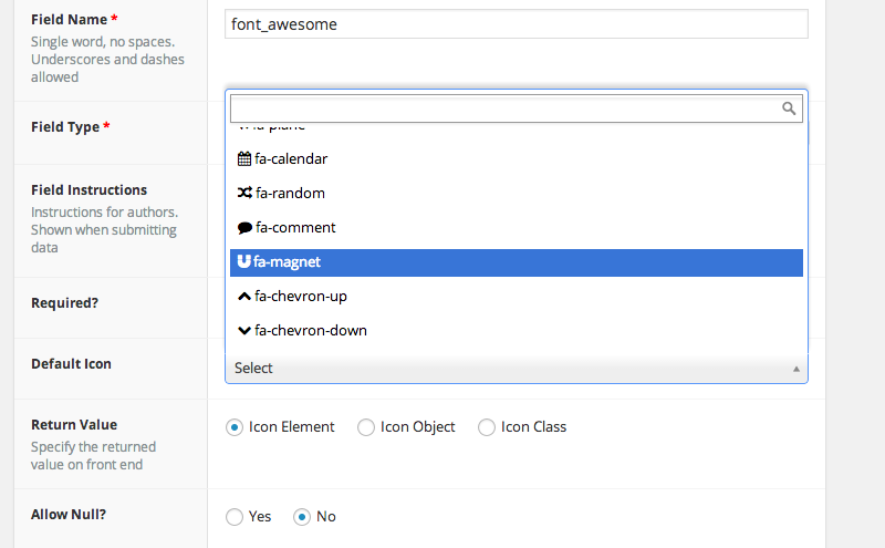 Download Advanced Custom Fields: Font Awesome Field 2.1.2 – Free WordPress Plugin