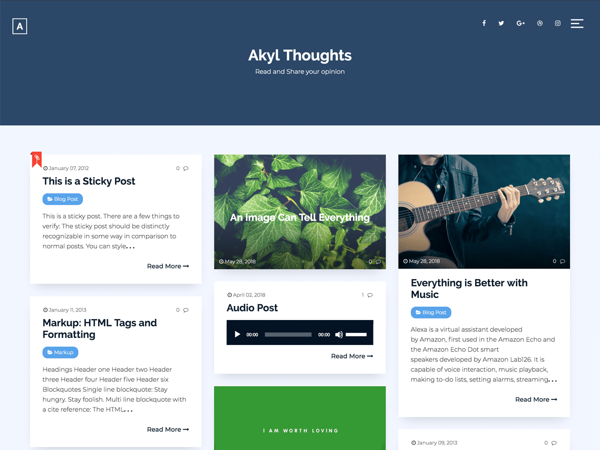 Download Akyl 1.4.1 – Free WordPress Theme