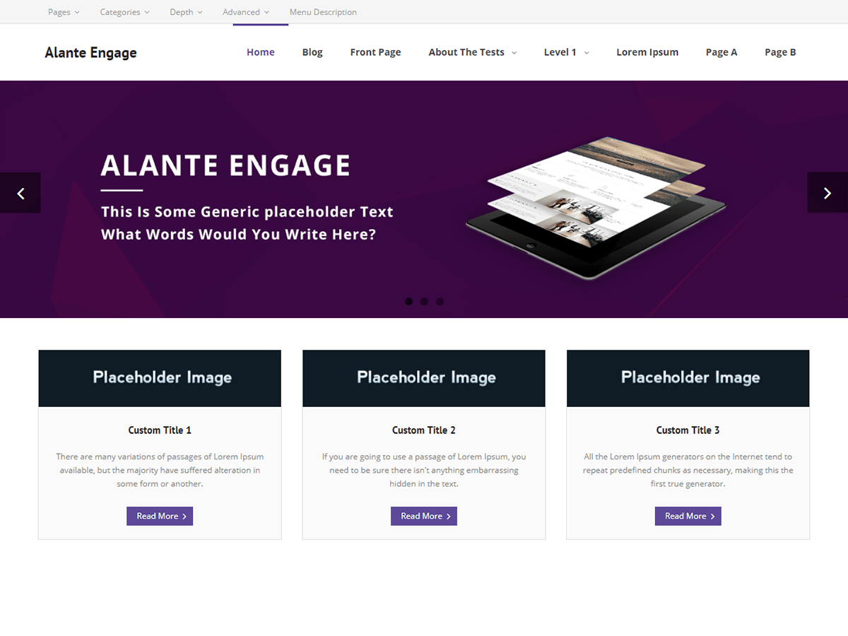 Download Alante Engage 1.0.3 – Free WordPress Theme