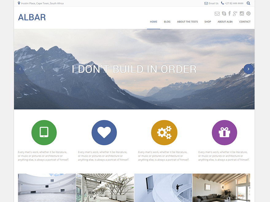 Download Albar 1.7.71 – Free WordPress Theme