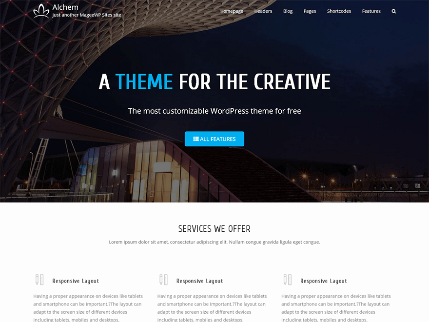 Download Alchem 1.4.7 – Free WordPress Theme