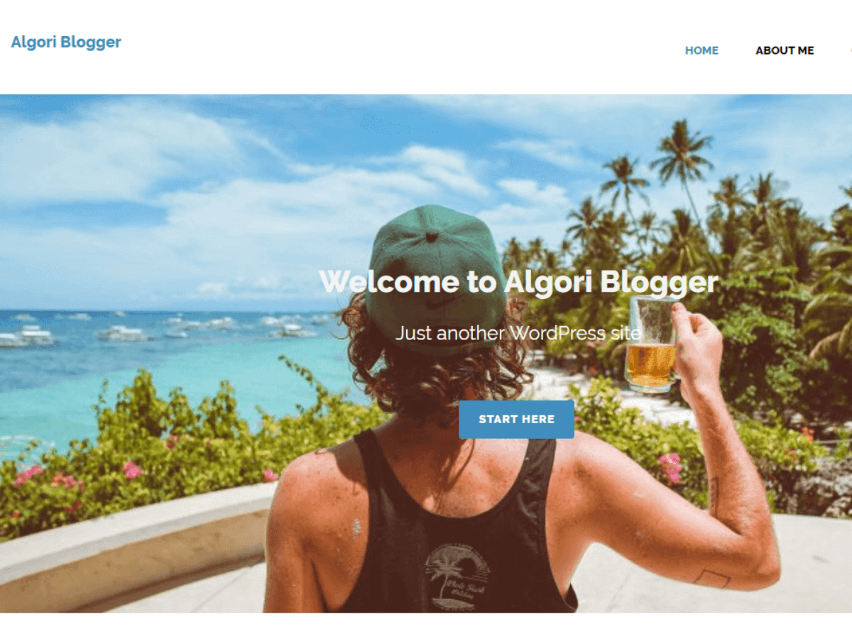 Download Algori Blogger 1.0.8 – Free WordPress Theme