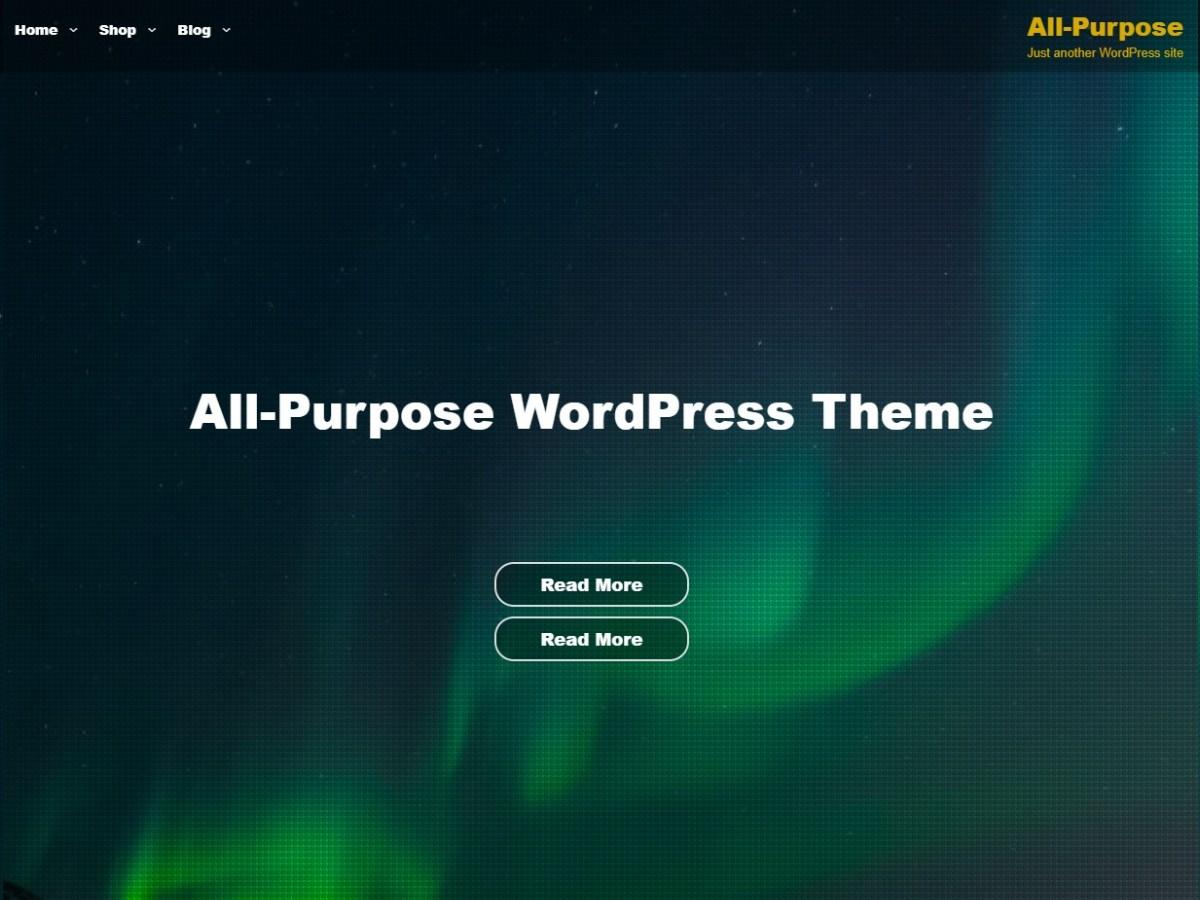 Download All Purpose 2.1.3 – Free WordPress Theme
