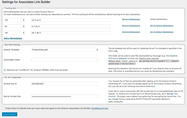 Download Amazon Associates Link Builder 1.8.0 – Free WordPress Plugin