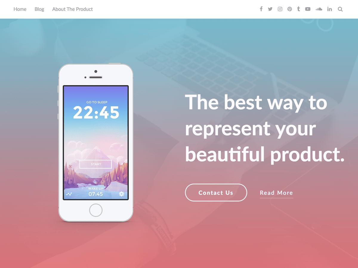 Download AppPage 2.9 – Free WordPress Theme