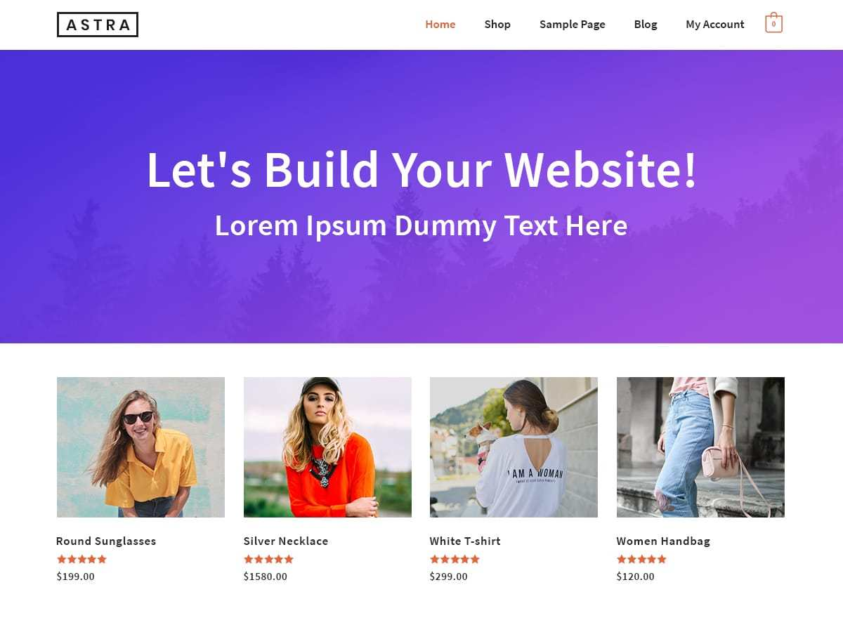 Download Astra 1.5.1 – Free WordPress Theme