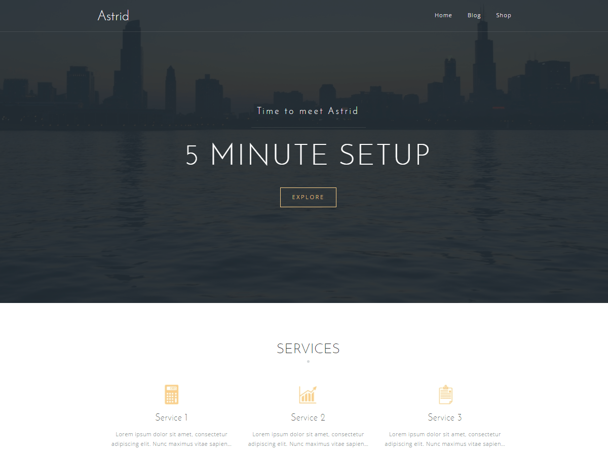 Download Astrid 1.15 – Free WordPress Theme