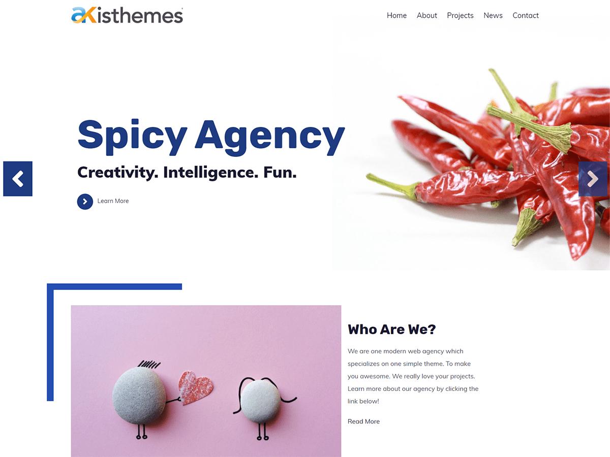 Download Atlast Agency 1.0.1 – Free WordPress Theme