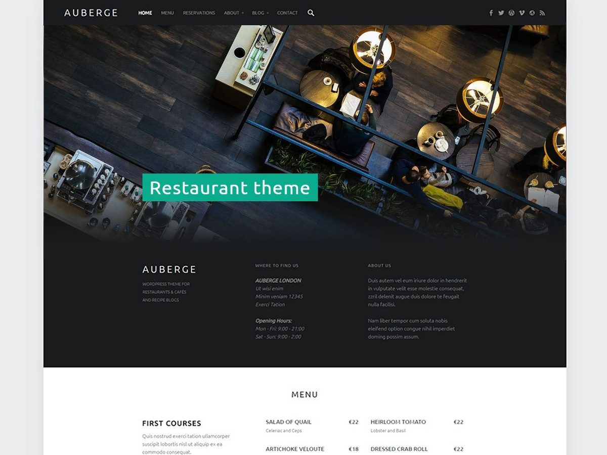 Download Auberge 2.5.3 – Free WordPress Theme