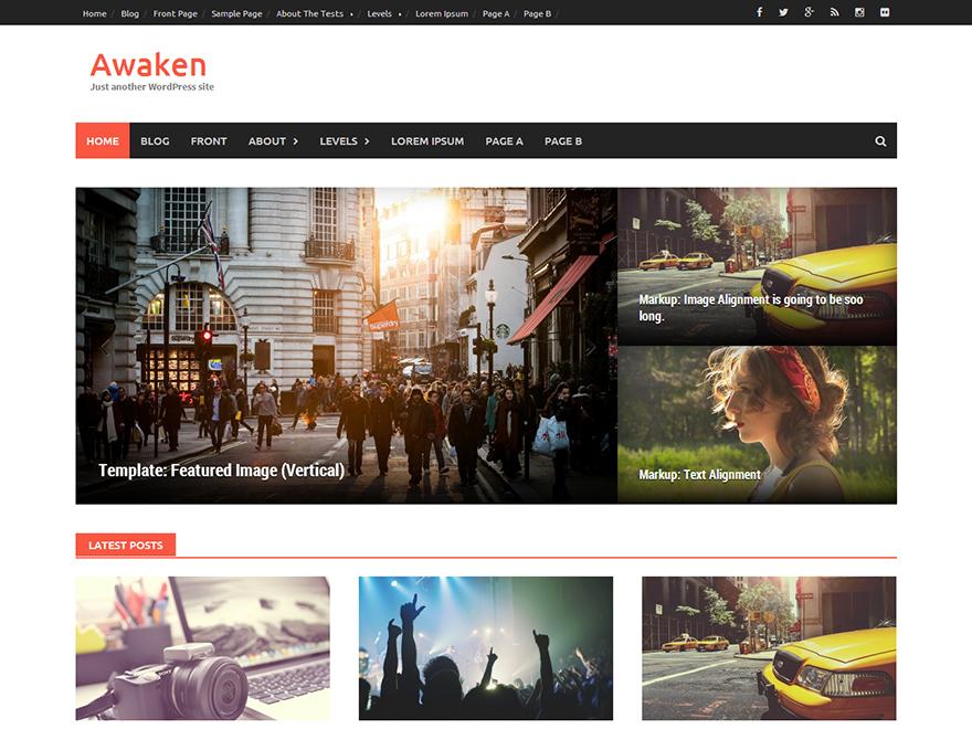 Download Awaken 2.1.9 – Free WordPress Theme
