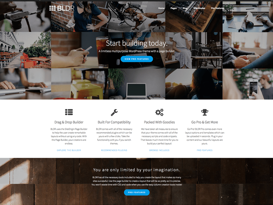 Download BLDR 1.2.6 – Free WordPress Theme