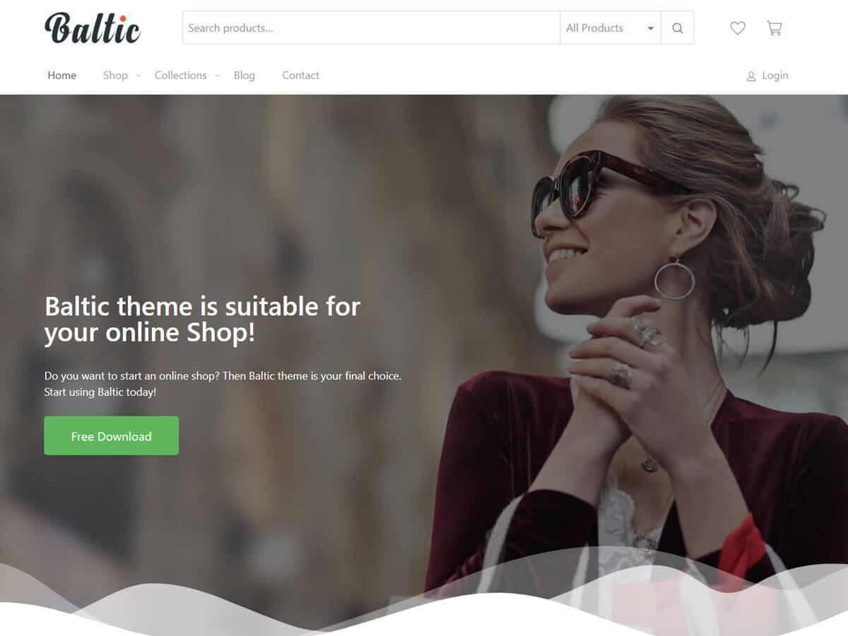 Download Baltic 1.1.2 – Free WordPress Theme