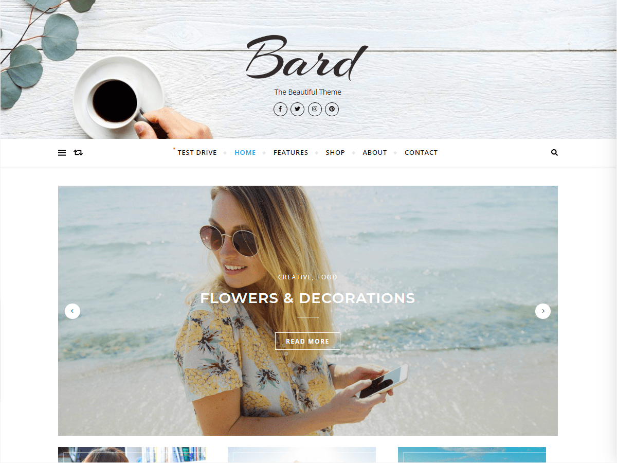 Download Bard 1.4.9.2 – Free WordPress Theme