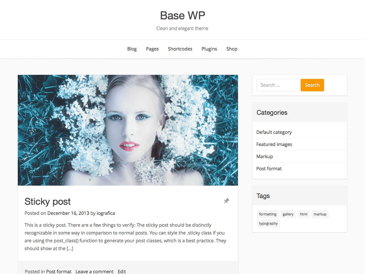 Download Base WP 2.11 – Free WordPress Theme