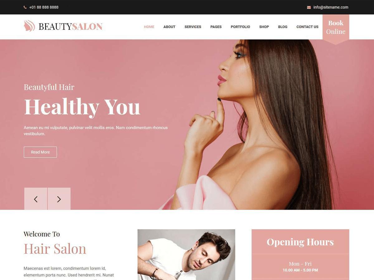 Download Belleza 1.0 – Free WordPress Theme