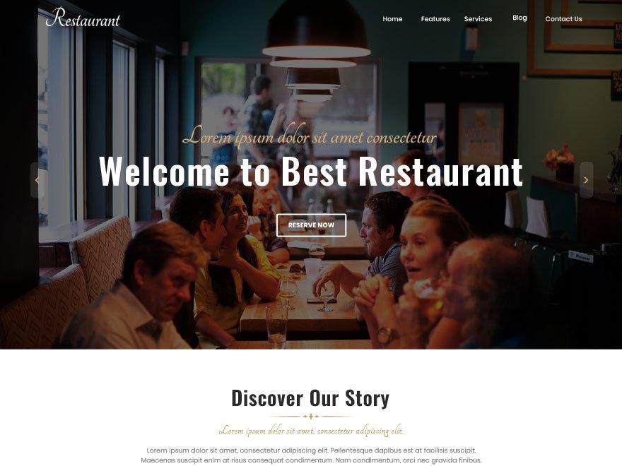 Download Best Restaurant 1.0.5 – Free WordPress Theme
