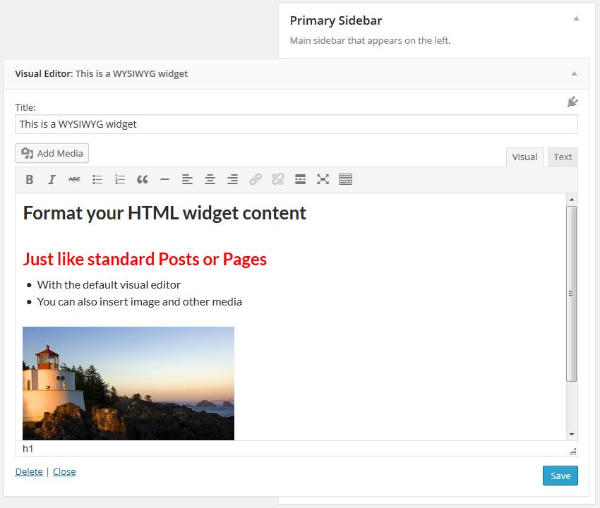 Download Black Studio TinyMCE Widget 2.6.2 – Free WordPress Plugin