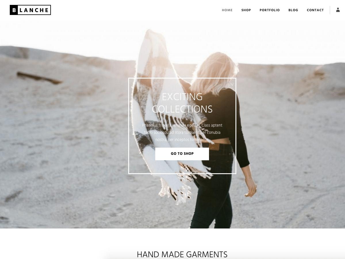 Download Blanche Lite 1.0.3 – Free WordPress Theme