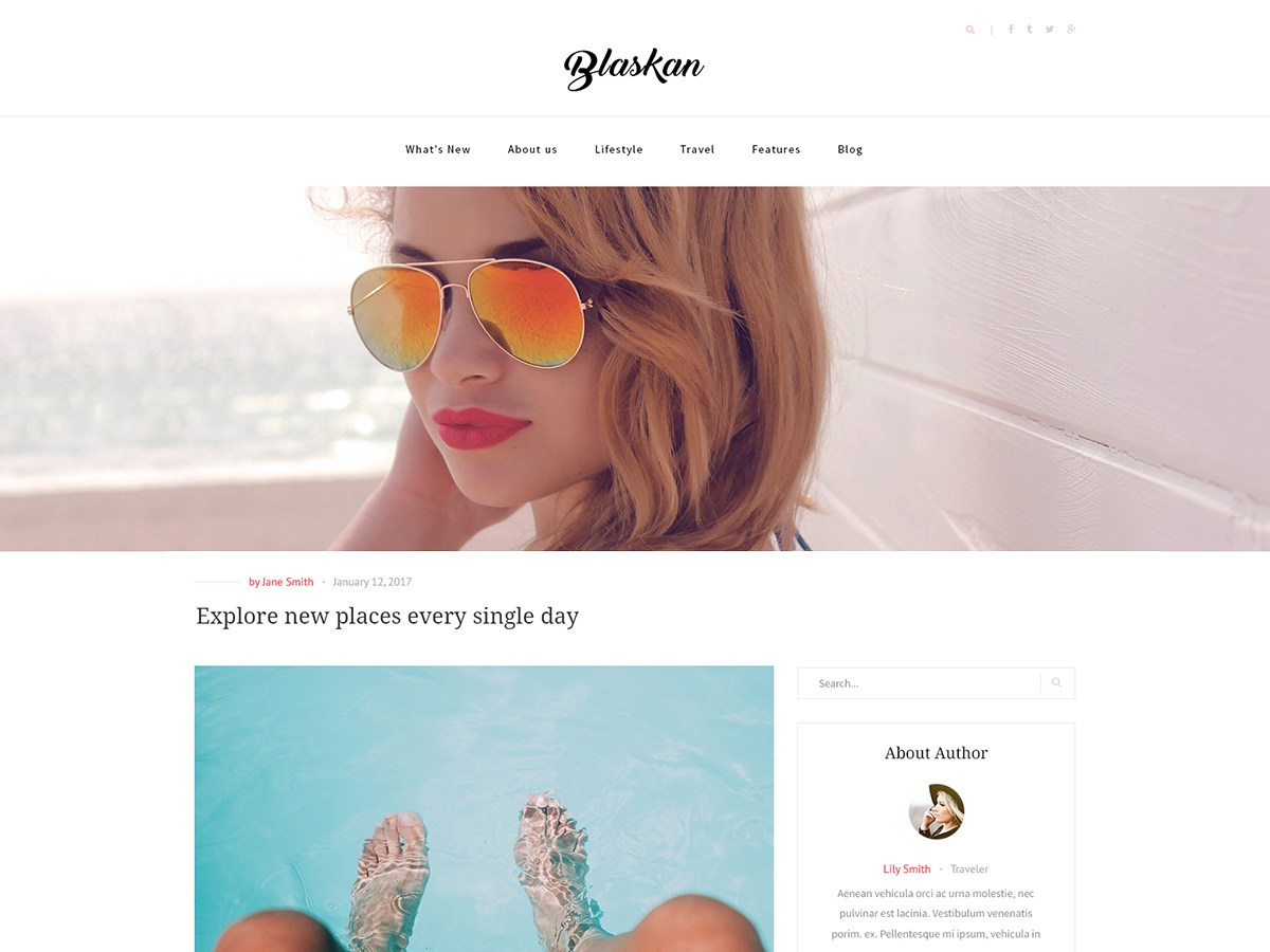 Download Blaskan 3.0.1 – Free WordPress Theme