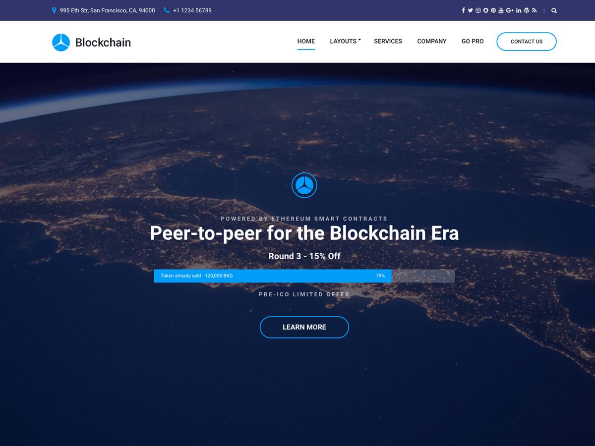 Download Blockchain Lite 1.0.3 – Free WordPress Theme