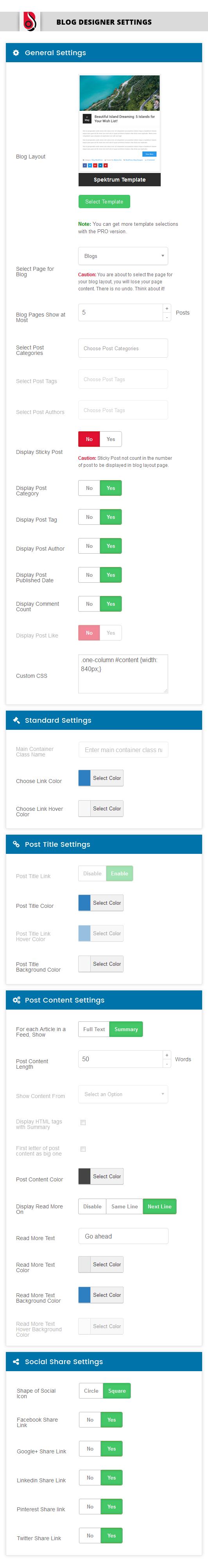 Download Blog Designer 1.8.9.3 – Free WordPress Plugin