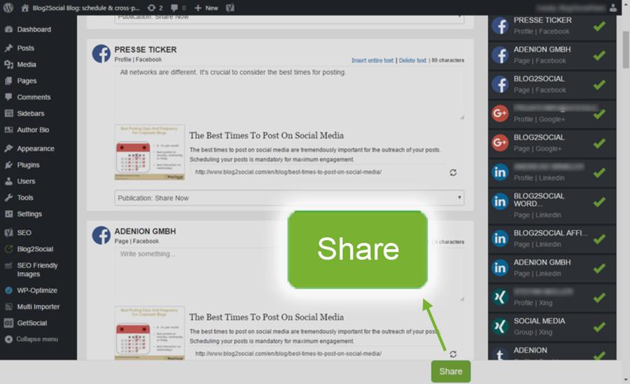 Download Blog2Social: Social Media Auto Post & Scheduler 5.0.1 – Free WordPress Plugin