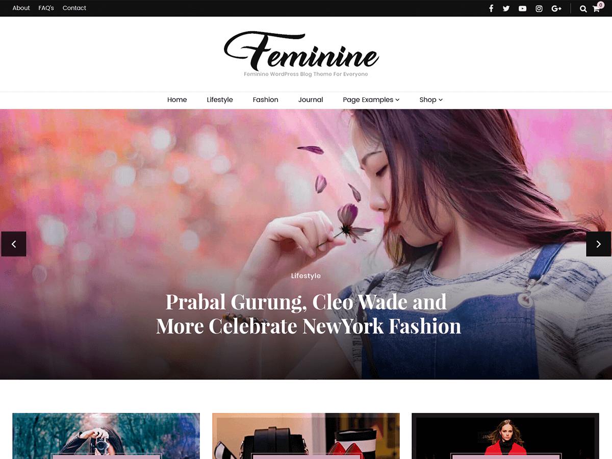 Download Blossom Feminine 1.1.6 – Free WordPress Theme