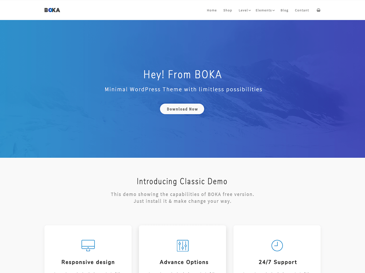 Download Boka 1.0.36 – Free WordPress Theme
