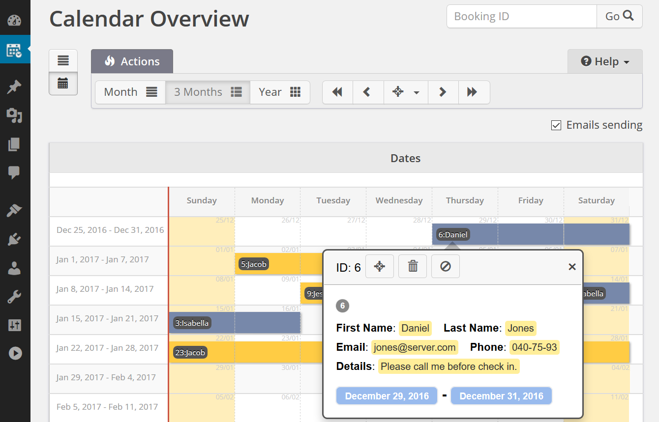 Download Booking Calendar 8.4 – Free WordPress Plugin