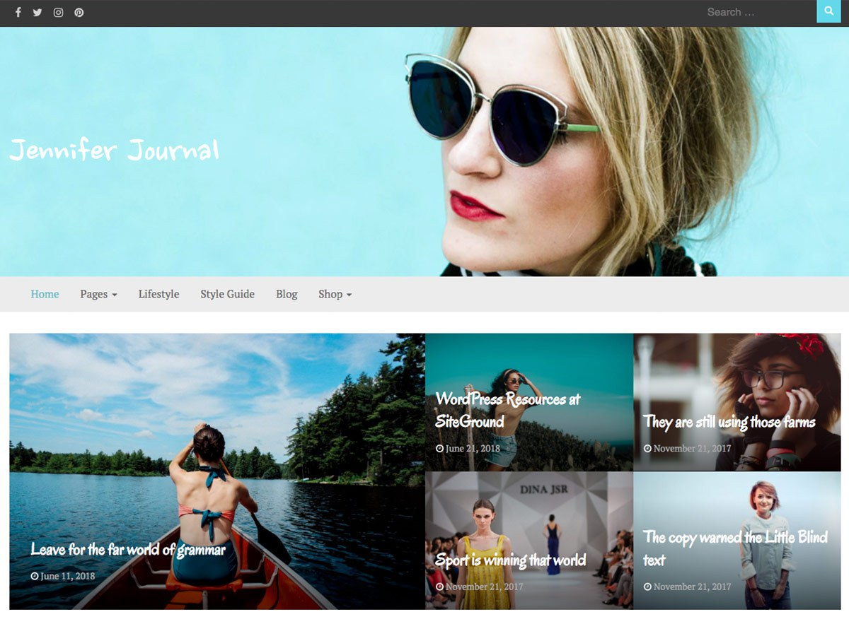 Download Bootstrap Journal 1.0.1 – Free WordPress Theme