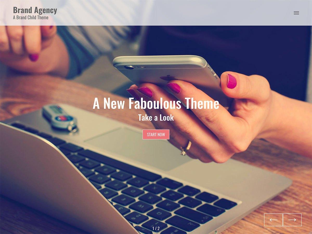 Download Brand Agency 1.0.1 – Free WordPress Theme