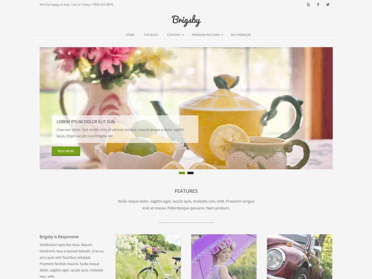 Download Brigsby 1.6.7 – Free WordPress Theme