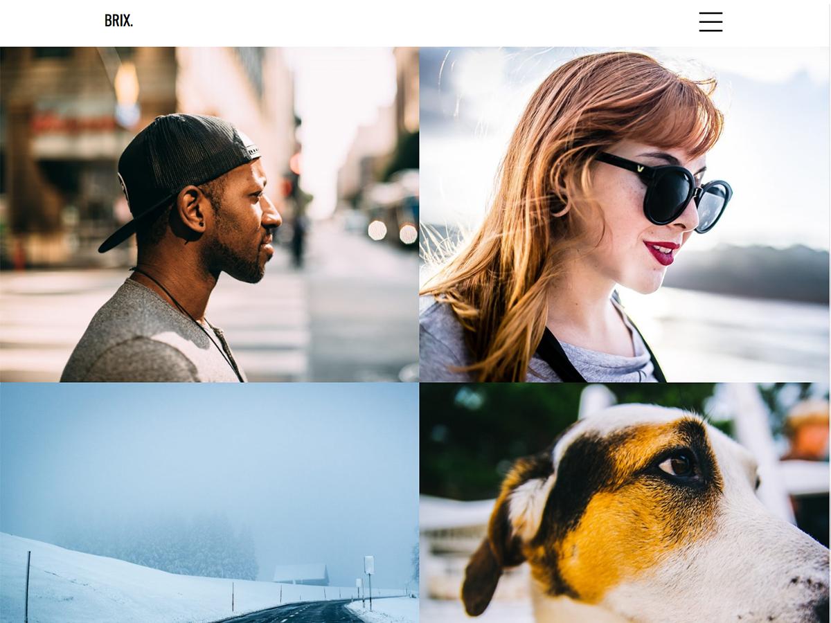 Download Brix Portfolio 1.0.16 – Free WordPress Theme