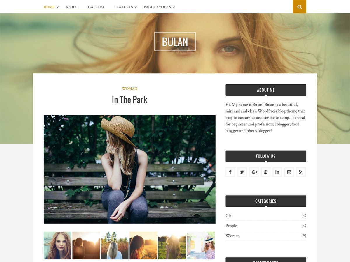Download Bulan 1.0.9 – Free WordPress Theme