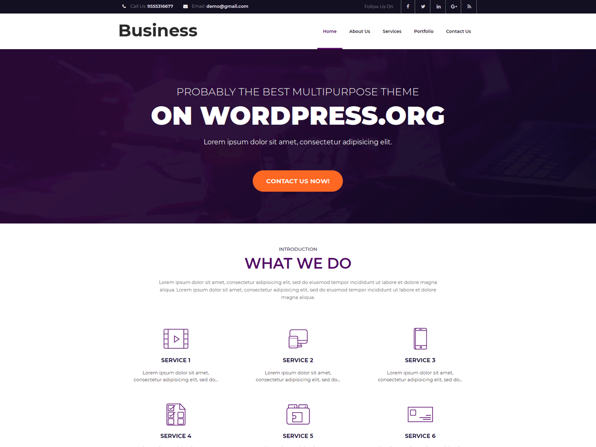 Download Business Booster 1.1.2 – Free WordPress Theme