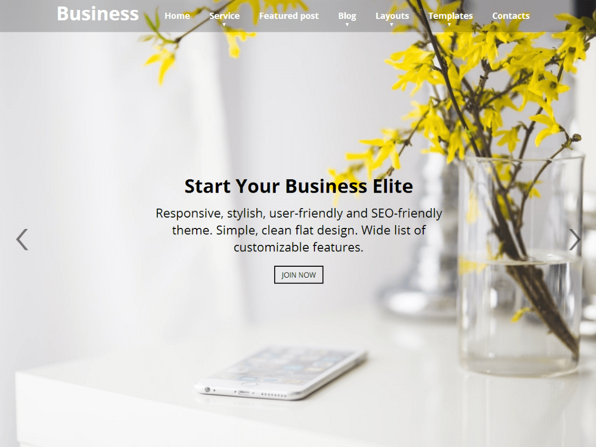 Download Business Elite 1.1.34 – Free WordPress Theme
