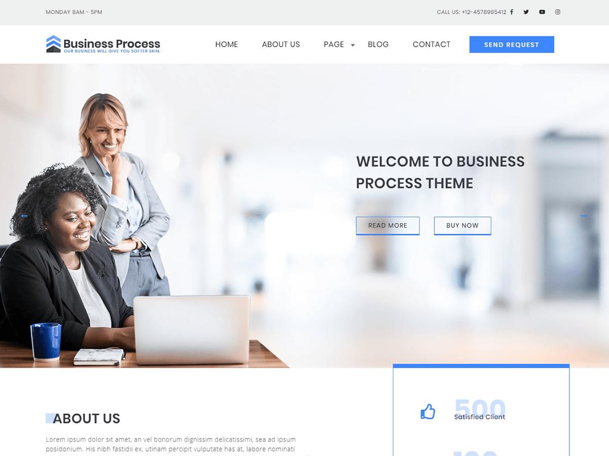 Download Business Process 1.0.2 – Free WordPress Theme