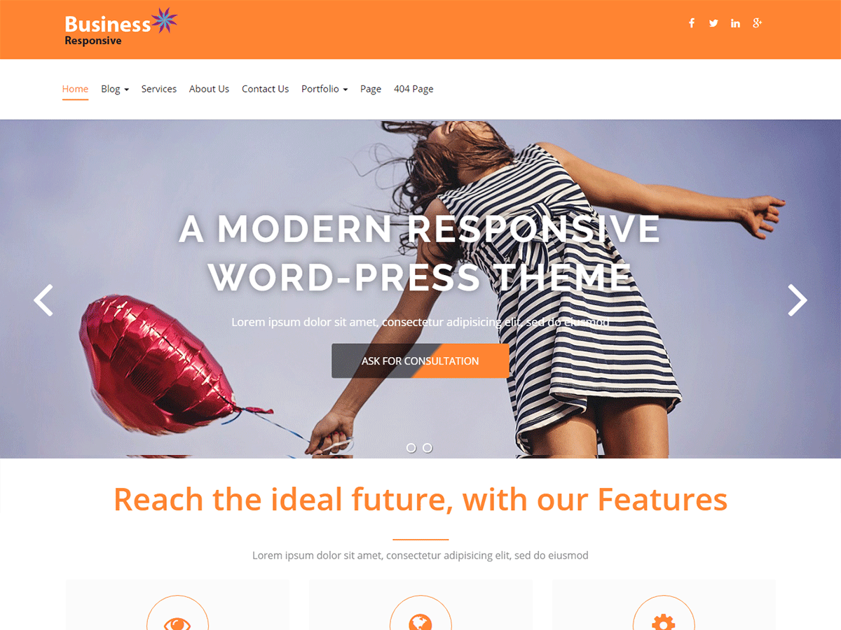 Download Business Responsiveness 1.2.3 – Free WordPress Theme
