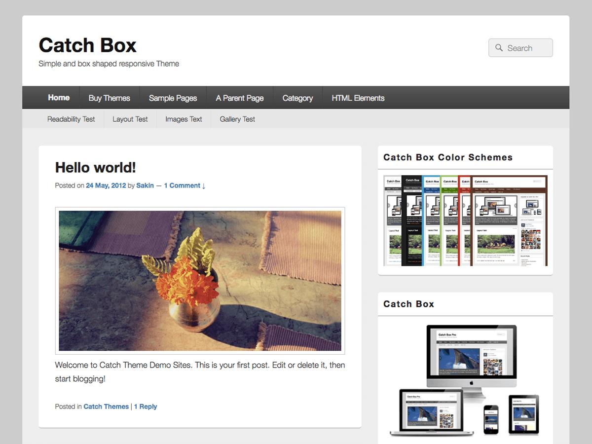 Download Catch Box 4.7.7 – Free WordPress Theme