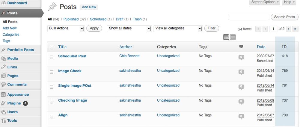 Download Catch IDs 1.5 – Free WordPress Plugin