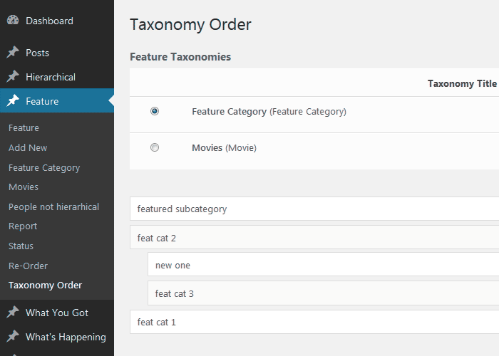 Download Category Order and Taxonomy Terms Order 1.5.5 – Free WordPress Plugin