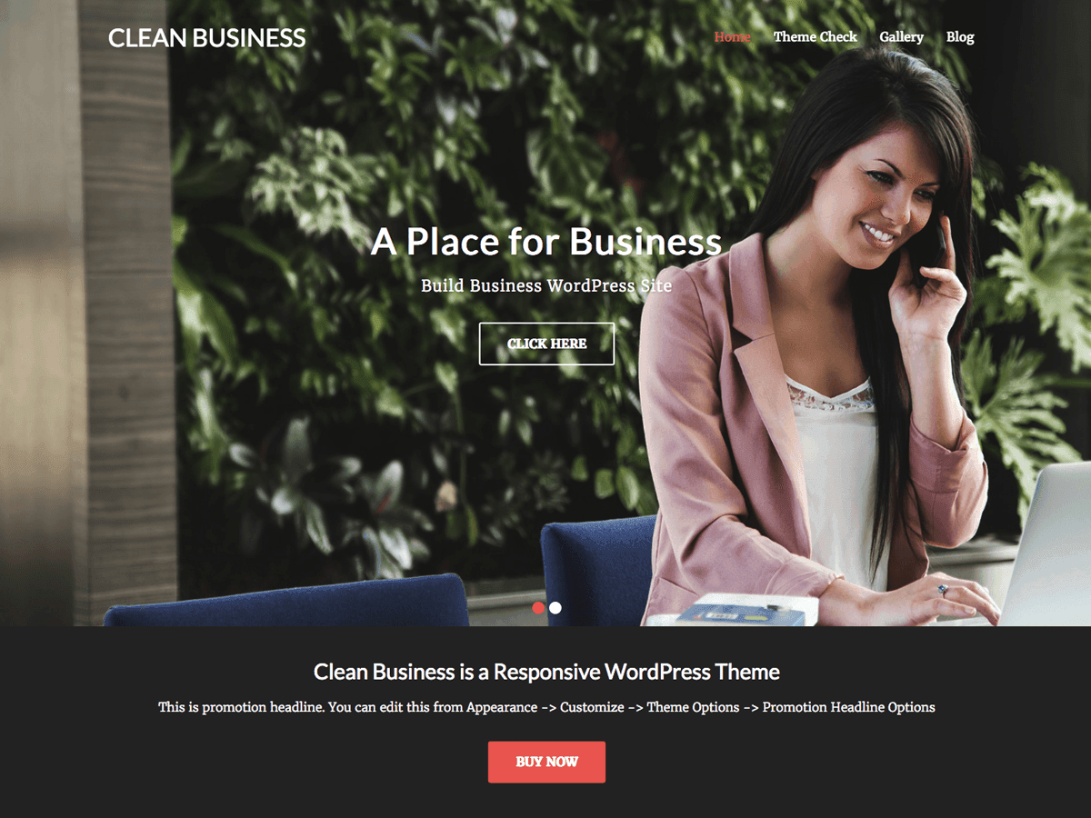 Download Clean Business 1.2 – Free WordPress Theme