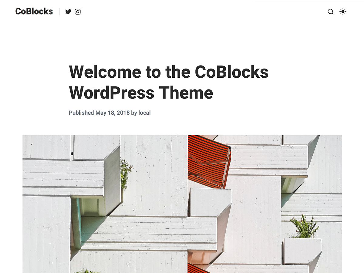 Download CoBlocks 1.1.4 – Free WordPress Theme