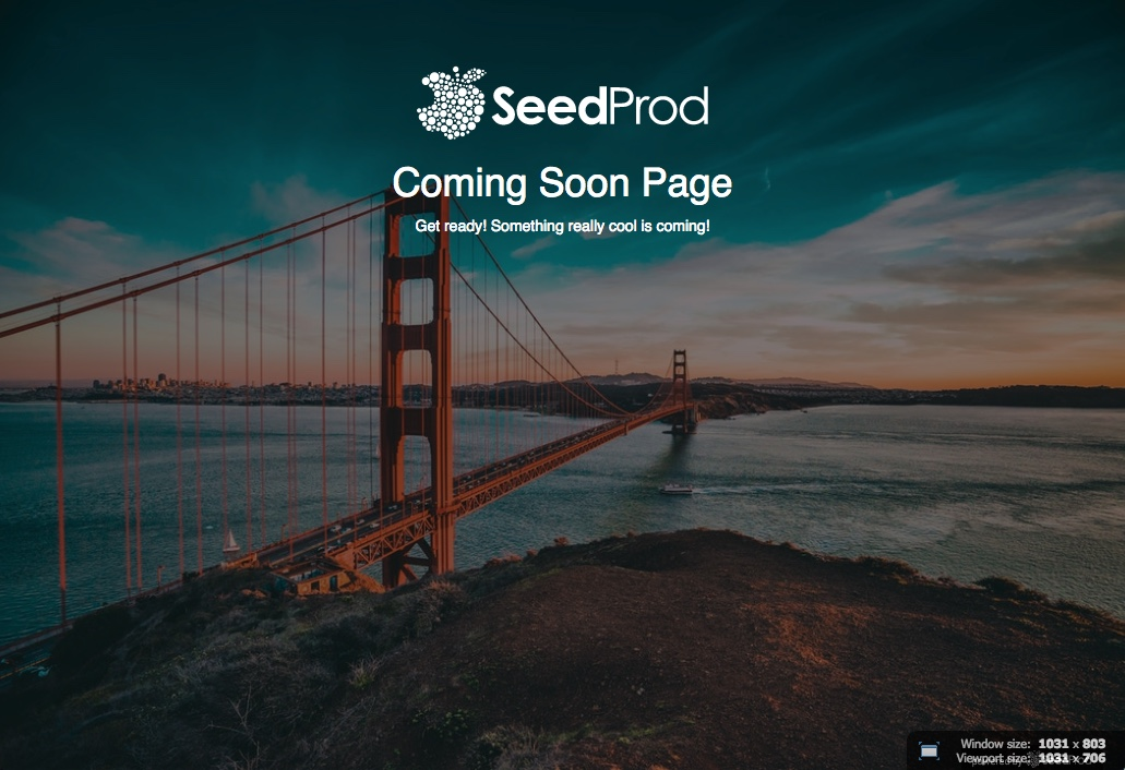 Download Coming Soon Page & Maintenance Mode by SeedProd 5.0.20 – Free WordPress Plugin