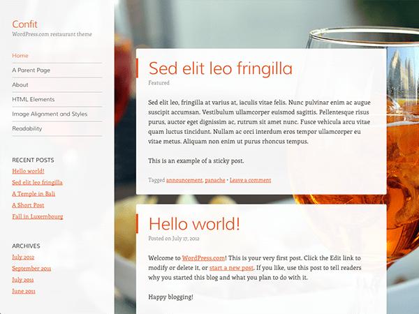 Download Confit 1.3.3 – Free WordPress Theme
